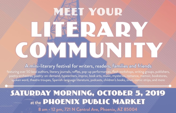 Come Meet Debutiful and Your Literary Community at Phoenix Public Market