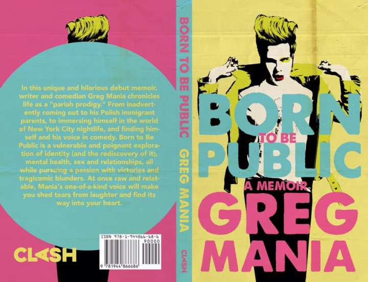 Designing Debuts: How Matthew Revert created Greg Mania's book cover