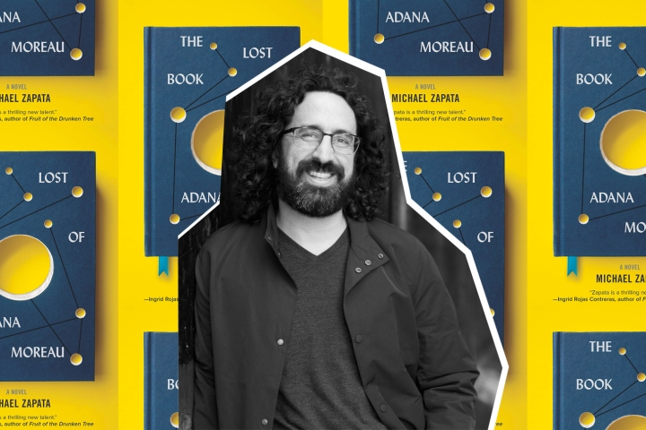 Digital Book Tour – Michael Zapata, The Lost Book of Adana Moreau