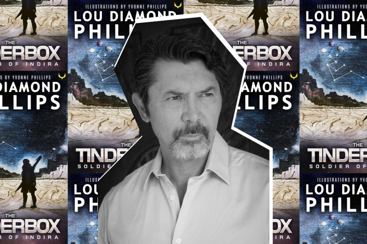 Lou Diamond Phillips adds sci-fi writer to his long list of talents